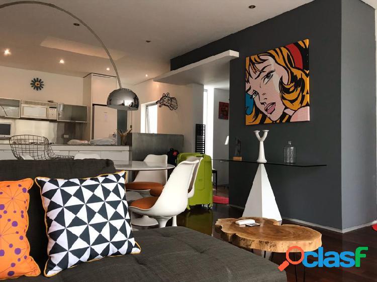 Departamento en alquiler en miraflores 3 dormitorios amoblado minimalista