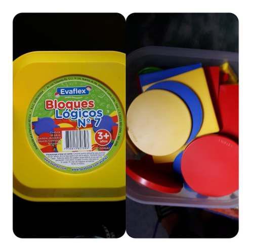 Bloques lógicos para niños juegos didácticos
