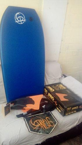 Bodyboard n°6, 41 doble stringer, crescent, full dn,
