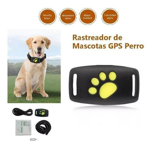 Gps Ratreador Perros Gatos Mascotas Tiempo Real