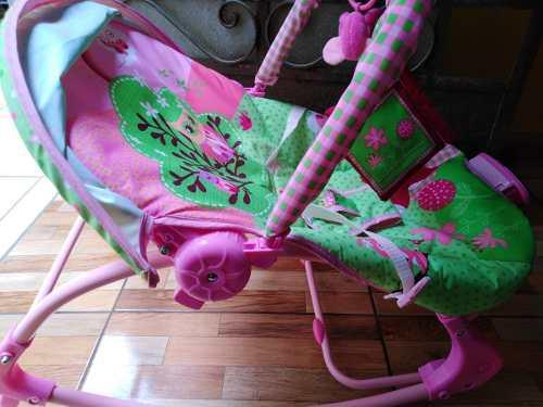 Infanti - silla nido mecedora vibradora owl baby