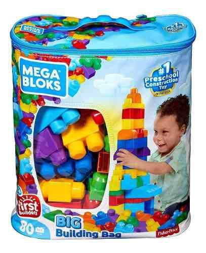 Mega bloks fisher price bolsa d 80 piezas oferta blocks