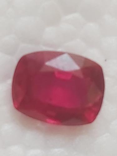 Piedra rubí nat. 4.25 cts certificado: n° gg-9467