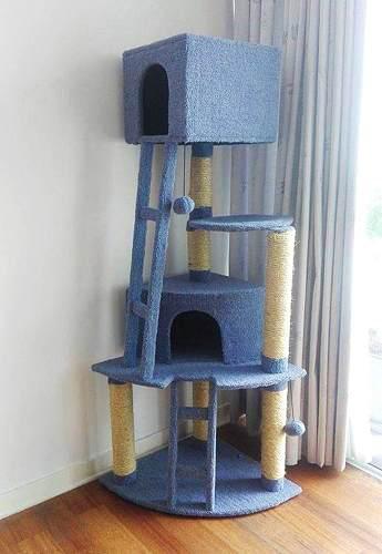 Rascador para gatos modelo lia, mascotas
