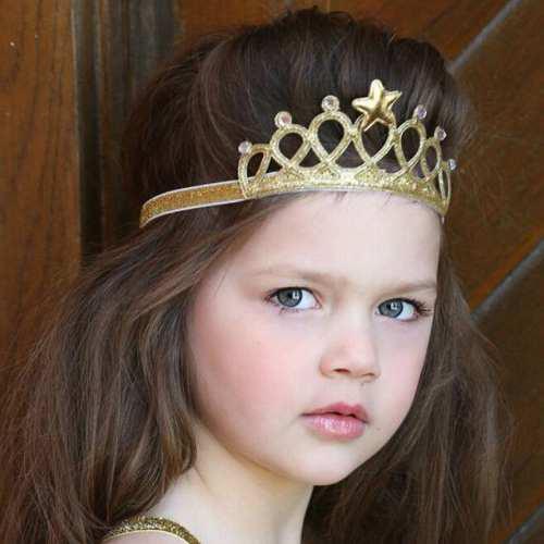 Banda de cabello niña bebe corona vincha diadema