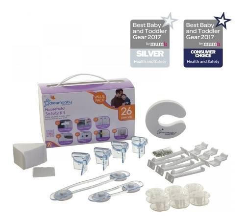 Kit de seguridad para el hogar dreambaby - 26pc