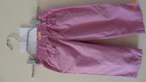 Pantalón original marca chalicen morado bb talla 18 meses