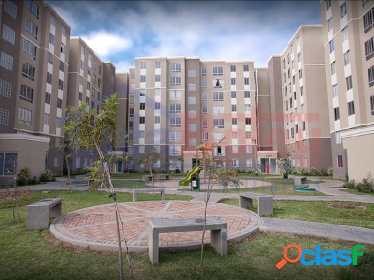 Vendo departamento 7° piso en condominio los parques de san gabriel