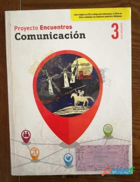 Libro de texto y actividades comunicación editorial sm