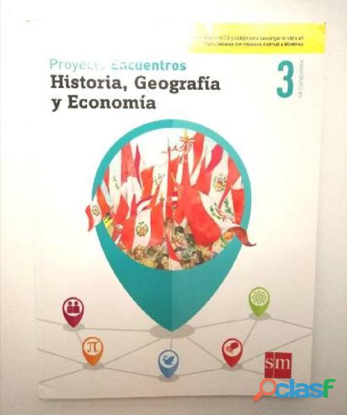 Libro de texto y actividades historia 3sec editorial sm
