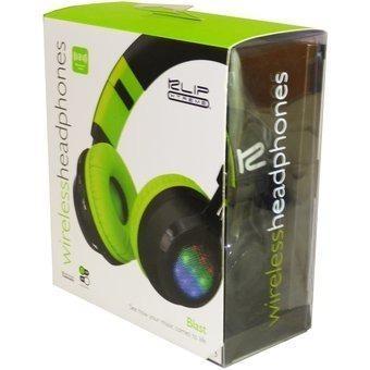 Audífonos c/microf klip xtreme khs-660bk bluetooth y luces