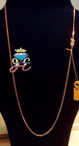 Cadena de oro ley 18k lomo corvina cc_08 hombre jespaña