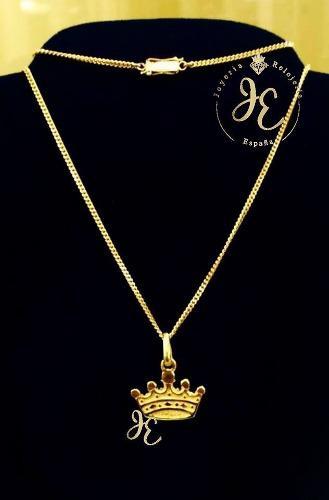 Cadena oro amarillo 18k mujer sindije collar cd_30 jespaña