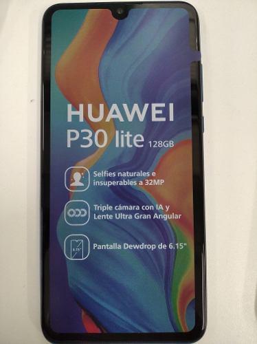 Celular huawei p30 lite 128gb azul libre de fabrica sellado