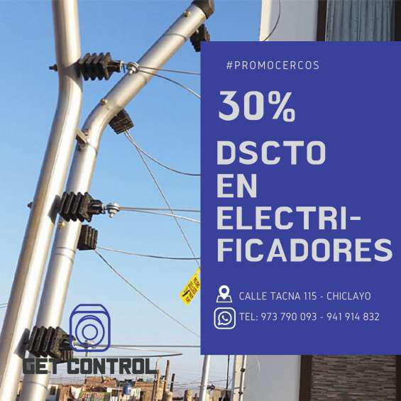 Instalación de cerco eléctrico chiclayo en Chiclayo