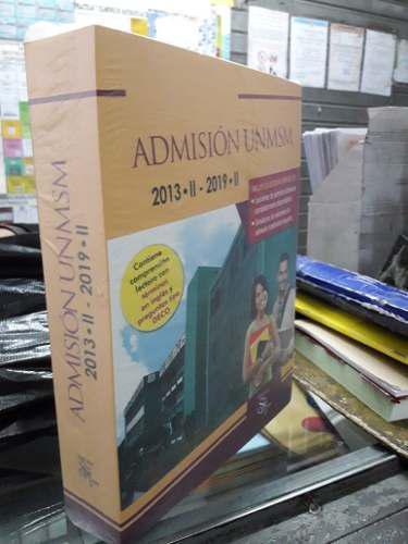 Libros de exámenes resueltos de san marcos hasta el 2019