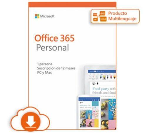 Microsoft office 365 personal - suscripción (1 año)