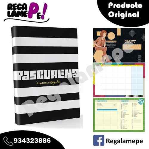 Pascualina Planner Pop Brujo Planificador