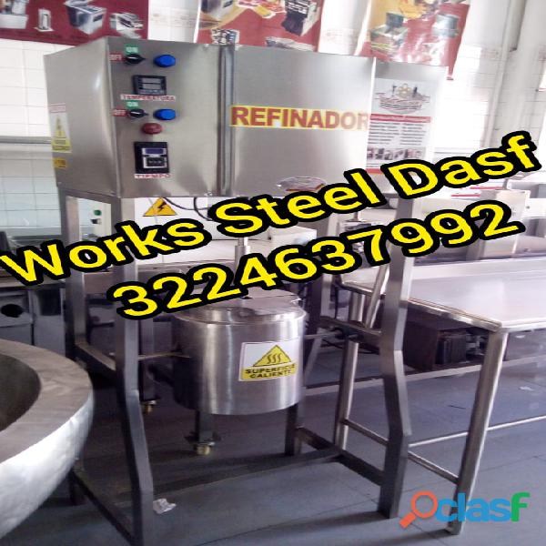 Refinador Conchador De Chocolate Marca Works Steel Dasf