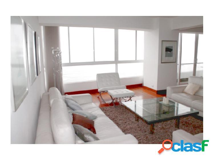 Departamento en alquiler en miraflores exclusivo vista al mar 3 dormitorios amoblado terraza