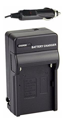 Cargador genérico p/ baterías sony y luces led tipo np-750