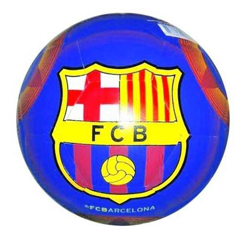Pelota balon oficial futbol barcelona n°5 cuero mdl4