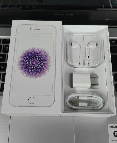 Iphone 6 16gb silver 4g lte accesorios
