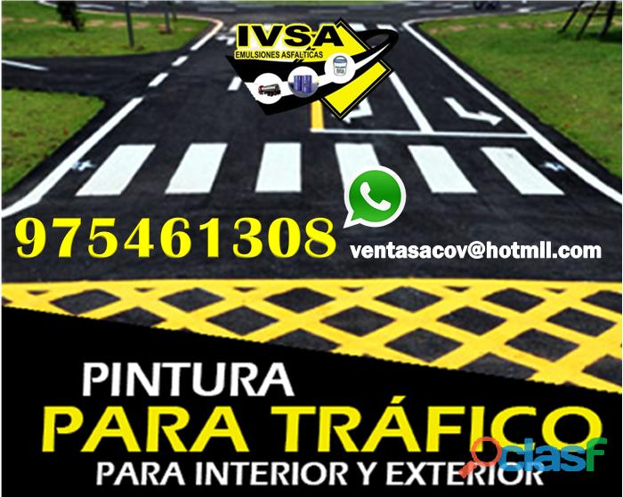 Venta de pintura para trafico a nivel nacional pedidos 975461308