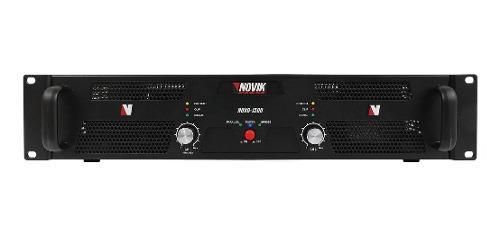 Amplificador de potencia novik neo novo 1500