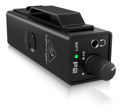 Amplificador monitor personal behringer powerplay p2