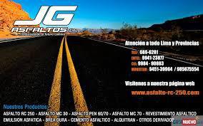 Desarrollo y ejecucion de obras de asfaltados en Lima