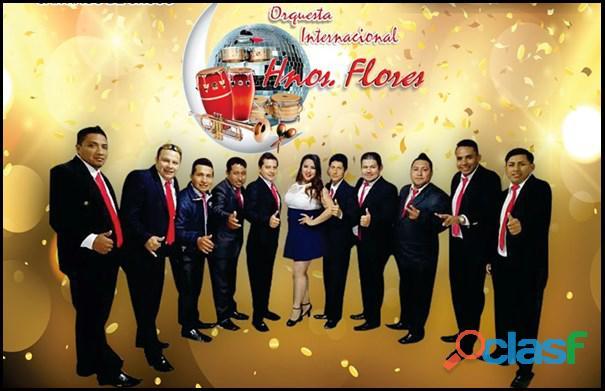 Orquesta internacional hnos flores