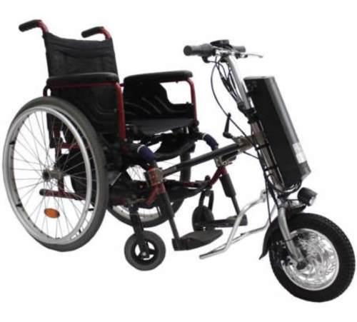 Bicicleta eléctrica de mano para silla de ruedas