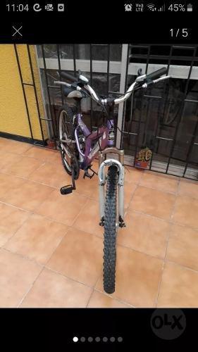 Bicicleta mujer aro 26 18 cambios negociable