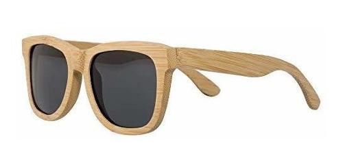 Gafas De Sol De Madera De Bambu Para Hombres Y Mujeres De Ma