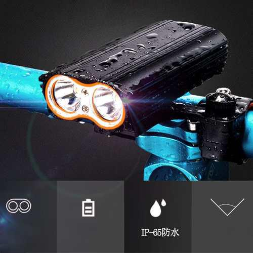 Luces led bicicleta recargable 2000 lum. oferta!!!