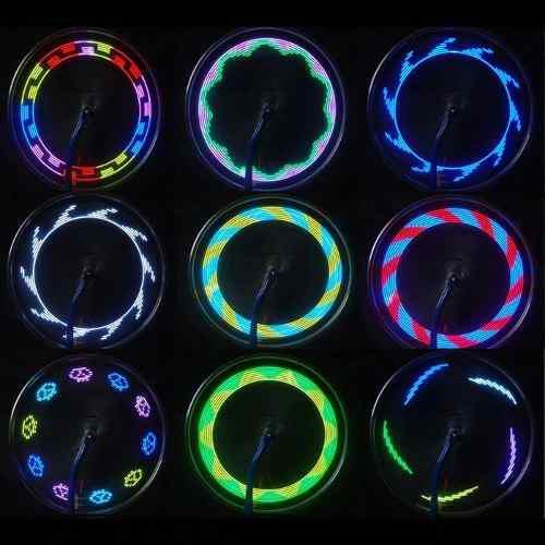 Luces led para bicicleta 14 leds