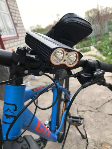Luces recargables bicicleta 2000 lumens