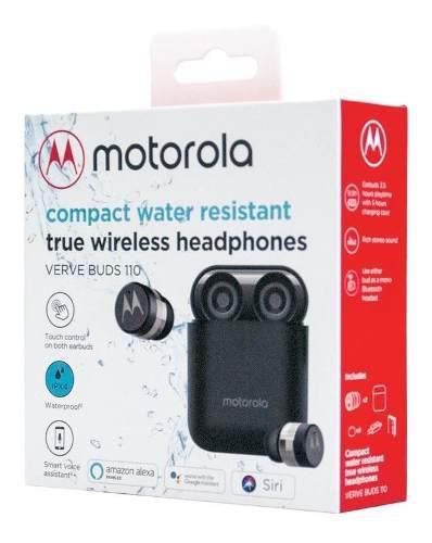P Audífono Motorola Verve Buds 110 Bluetooth Siri