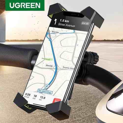 Soporte celular para bicicleta moto universal 360° ugreen