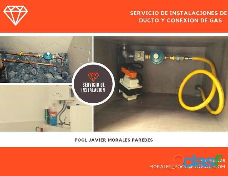 Instalacion y reparación de gas natural