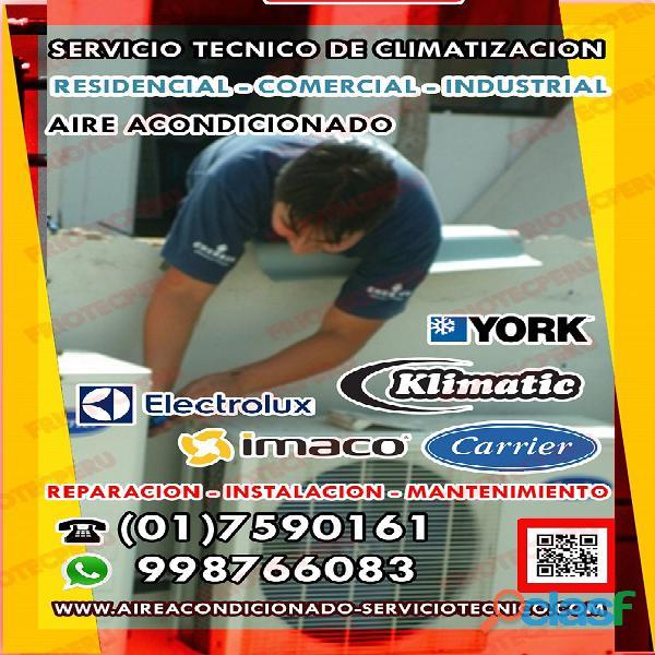 AIRE ACONDICIONADO / REPARACIÓN / MANTENIMIENTO / 7590161  7256381