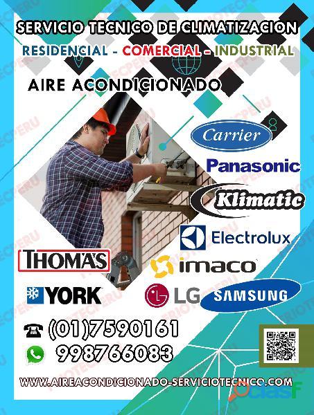 AIRE ACONDICIONADO / REPARACIÓN / MANTENIMIENTO / 7590161  7256381 2
