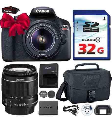 Camara Canon Eos Rebel T6 Dslr + Pack Accesorios