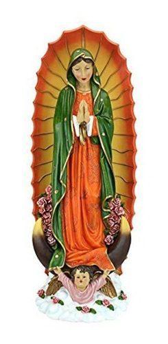 Design Toscano La Virgen De Guadalupe Religiosa Estatua, Pet