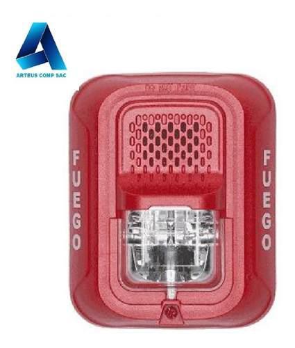System Sensor Sirena Con Luz Estrobo P2rp (p2rpl-p) -arteus
