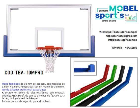 Tablero de basquetbol en Lima