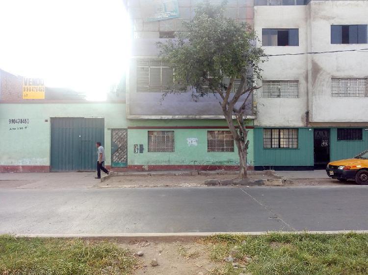 Terreno 330 m² (15x23) zona comercial, cerca de gamarra -