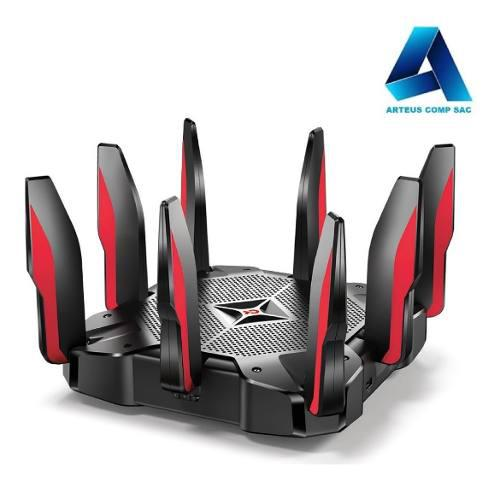 Tp-link Router Gaming Tribanda Mu-mimo Archer C5400x -arteus