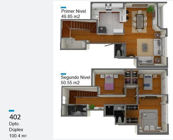 Venta de departamento en magdalena del mar (104.40 m²)